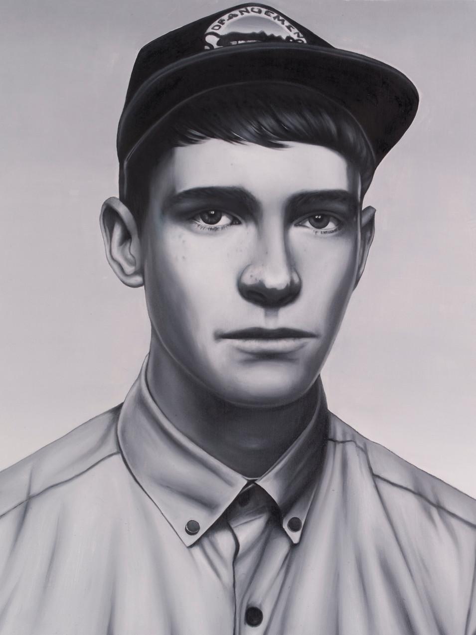 Michael Klipphahn | Rien | 2015 | Öl auf Papier | 55 x 45 cm(Privatsammlung) | verkauft