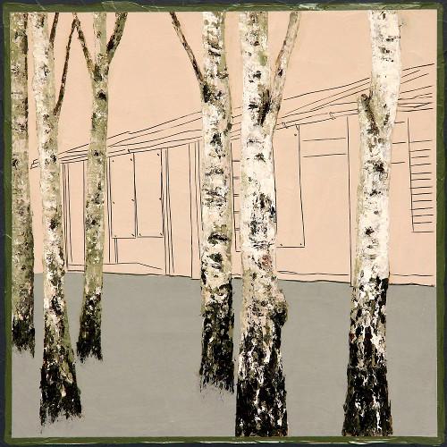 Andrea Imwiehe | Anamnesis | Acryl auf Holz | 30 x 30 cm | verkauft