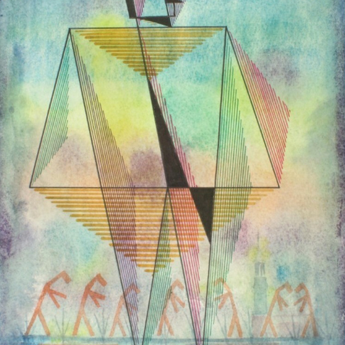 Georg Paul I Figurativ I o. J. I Aquarell und Tusche I 32 x 23 cm I 1100 Euro