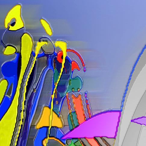 Anna Kasten | o.T. | 2011 | Mischtechnik, Rohdruck | 60 inch x 120 inch |300 Euro