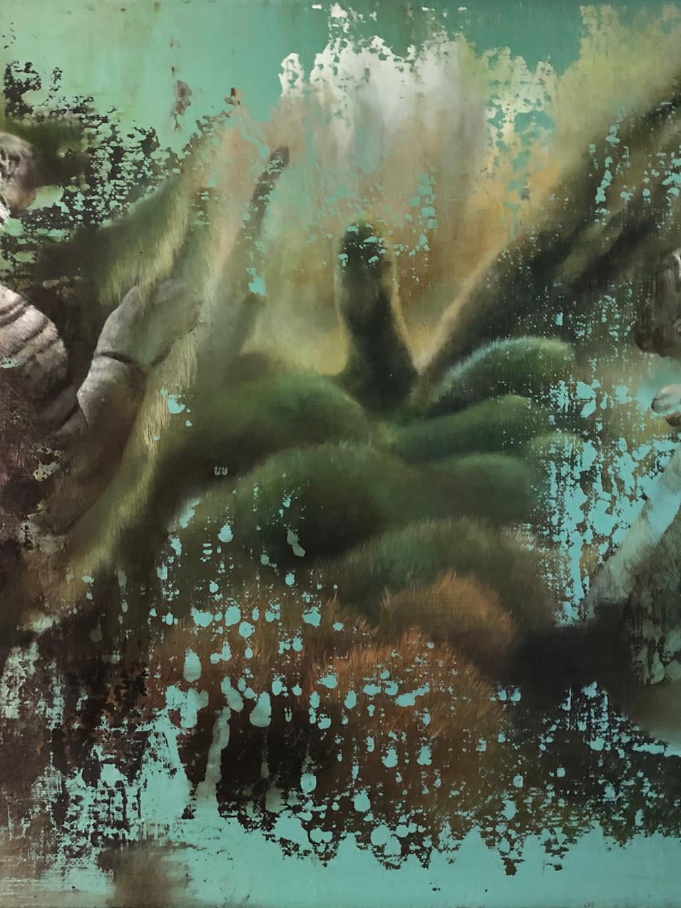 Isabelle Dutoit | Tiger | 2013 | Öl auf Leinwand | 40 x 50 cm |3100 Euro