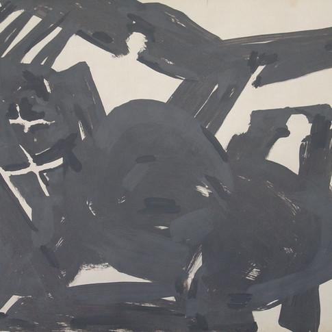 Wolfgang Opitz |o.T. | 2019 | Malerei auf Papier | 35 x 46 cm | 250 Euro