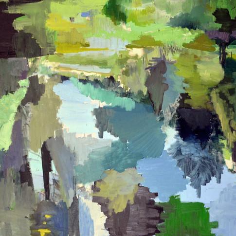 Felix Lippmann | Sumpf |2012-13 | Öl auf Leinwand |145 x 160 cm | 4500 Euro