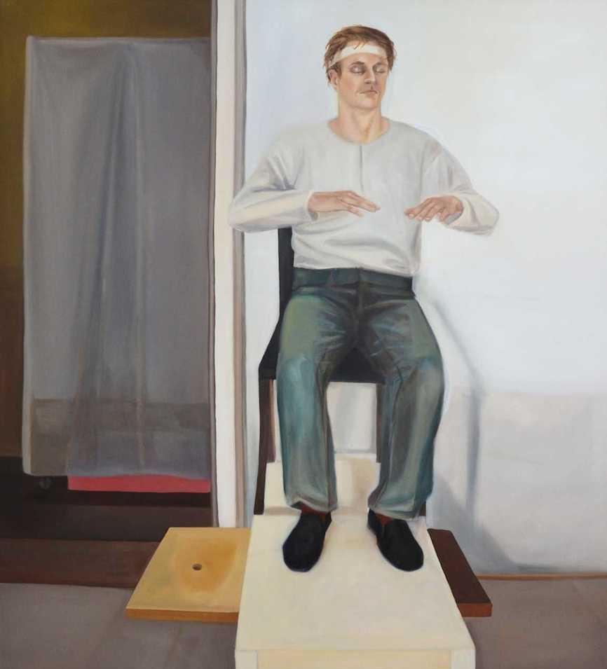 Melanie Kramer | Ot(mitte) | 2012 | Öl auf Leinwand | 160 x 130 cm | 3200 Euro