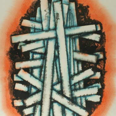 Georg Paul I Ei I 1969 I Tempera und Tusche I 39 x 28 cm I 1300 Euro