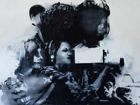 Martin Paul Müller | o. T. | 2016 | Öl auf Leinwand | 110 x 162 cm