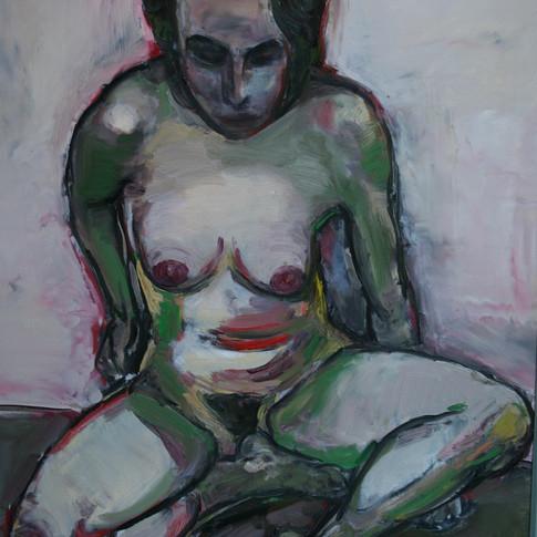 Hubertus Giebe | o.T. | 2005 | Ölfarbe auf Leinwand | 70 x 60 cm | 4600 Euro