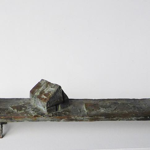 Michael Jastram | Borkum | 2014 | Bronze | 3/6 | 12,5 x 105 x 11,5 cm | 6800 Euro