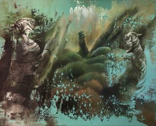 Isabelle Dutoit | Tiger | 2013 | Öl auf Leinwand | 40 x 50 cm | 2400 Euro
