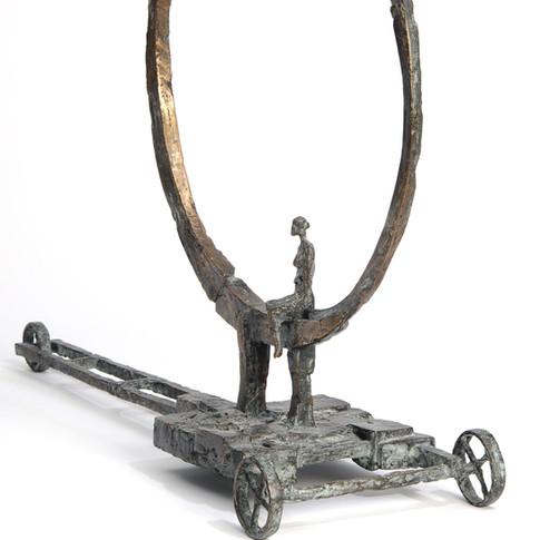 Michael Jastram | Mondwagen II (La Luna) | 2006 | Bronze | 2/6 | 67 x 86 x 25 cm | 12000 Euro