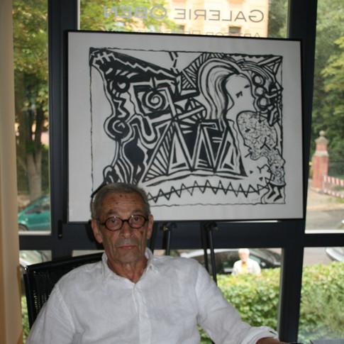 Wolfgang Opitz | Metamorphose 1 | 2018 | Acryl auf Papier | 60 x 75 cm | 1800 Euro