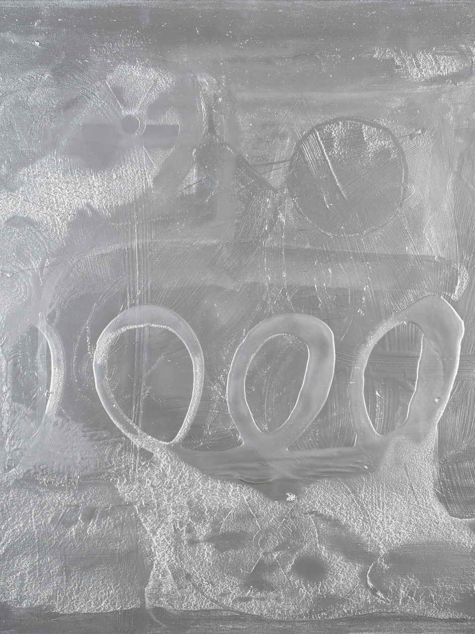 Oliver Kossack |Eine schöne Nacht (mit Jazz) am Ozonloch | 2020 | Acryl auf Leinwand | 100 x 120 cm | 5700 Euro
