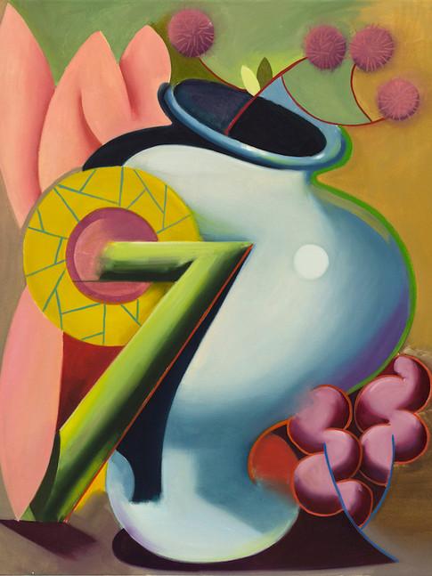 Philipp Weber | Formal | 2014 | Acryl auf Leinwand | 75 x 60 cm | 1500 Euro