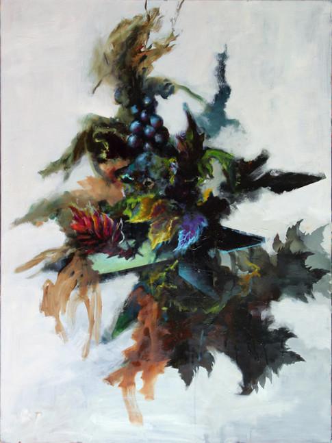 Alexander König | Gewächs | 2019 | Öl auf Leinwand | 110 x 80 cm | 5130 Euro