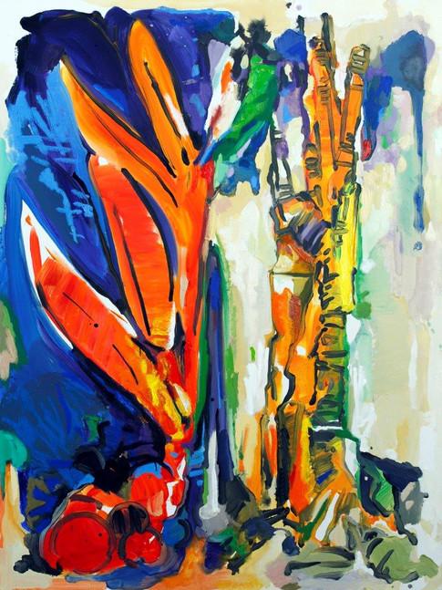 Eckehard Fuchs   Cut   2016   Öl auf Leinwand   155 x 115 cm   4300Euro