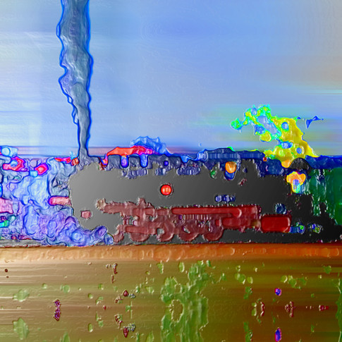 Anna Kasten | Dampflock | 2020 | Inkjet Karton | 70 x 50 cm | 600 Euro exkl. Rahmen (Vormerkung)
