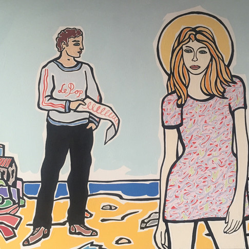 Moritz Götze | Das Rätsel | 2013 | Öl auf Leinwand | 50 x 70 cm