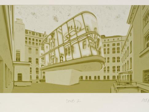 Harald Alff | DNB 2 | FHS auf MDF | 2012 | Grafikformat 31,5 x 60 cm | 220 Euro