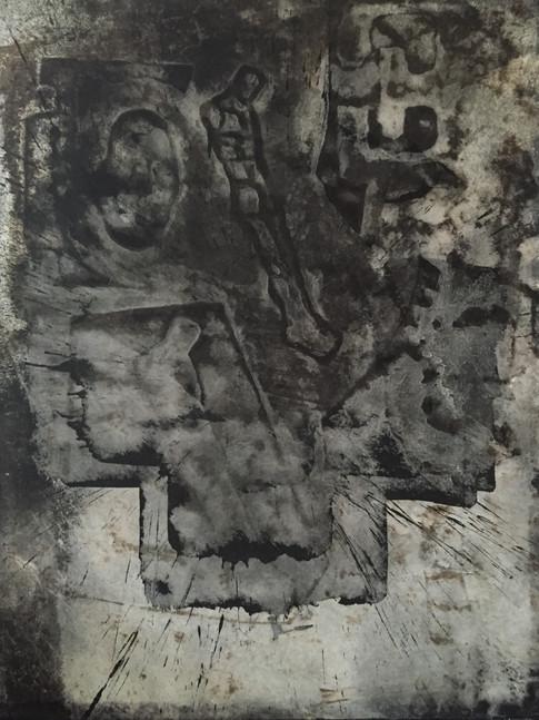 Michael Morgner | o.T. | 2010 | Lavage auf Leinwand | 92 x 71 cm | 6200 Euro