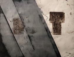 Michael Morgner | o.T. | 1989 | Lavage auf Bütten | 53 x 68 cm | 800 Euro