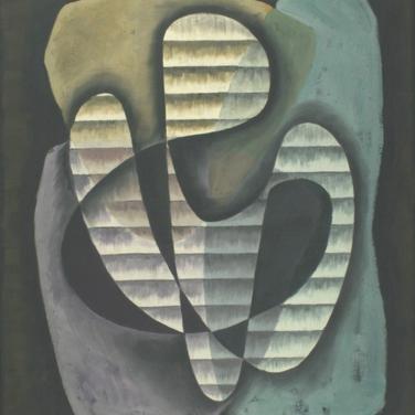 Georg Paul I Komposition 320 I 1964 I Öl I 59 x 49 cm I 2200 Euro