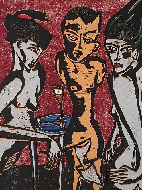 Lilith und Eva nach R.M.Rilke