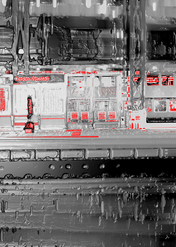 Anna Kasten | BHF Neustadt | 2020 | Inkjet Karton | 29,7 x 21 cm | 80 Euro