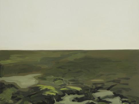 Julia Ludwig | Kleine Landschaft | 2008 | Öl auf Leinwand | 59 cm 69 cm | 1400 Euro
