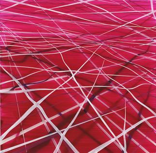 Achim Zeman | Laylines (06) | Acrylglas | 30 x 30 cm | Anfrage