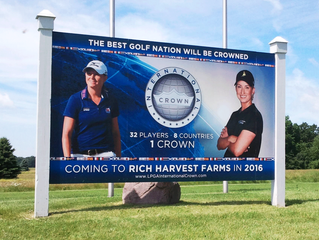 SignFX Completes Billboard Promoting International Crown, Coming 2016