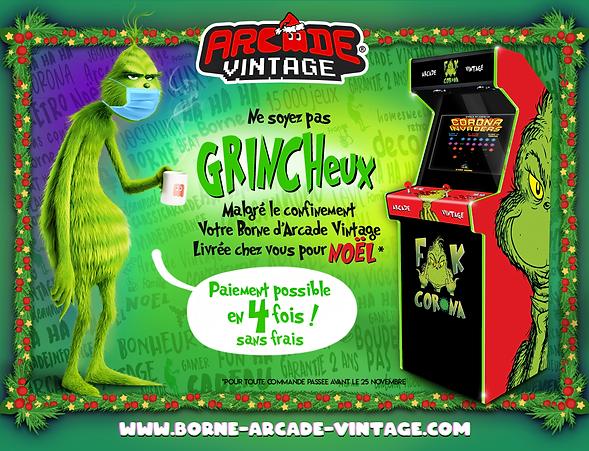 Borne d'arcade Nôel | Arcade Vintage 06 19 06 18 38