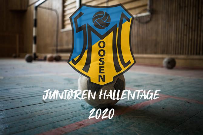 Ergebnisse Junioren Hallentage 2020