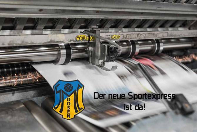 Neue Ausgabe des Sportexpress
