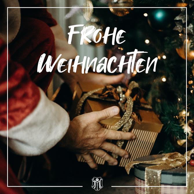 Frohe Weihnachten 🎄🎁