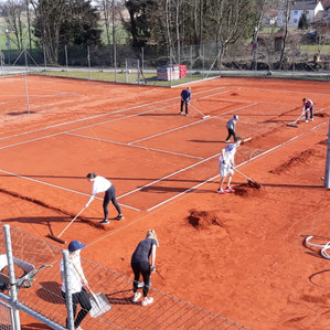 Saisonvorbereitung Tennis