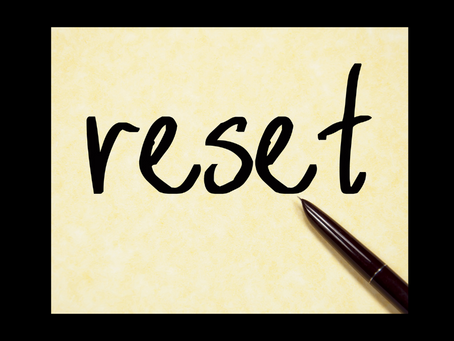 The 5 Steps to Reset your life