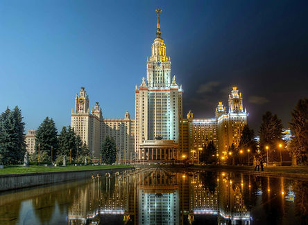 Free tour of Lomonosov Moscow State University (MSU)