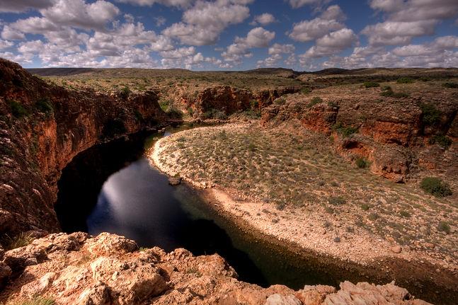 Yardie Creek Gorge in the Cape Range Nat
