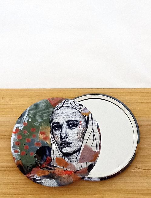 Miroir de poche visuel de Mam Kaan
