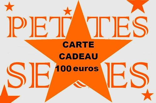 Carte cadeau d'une valeur de 100 euros