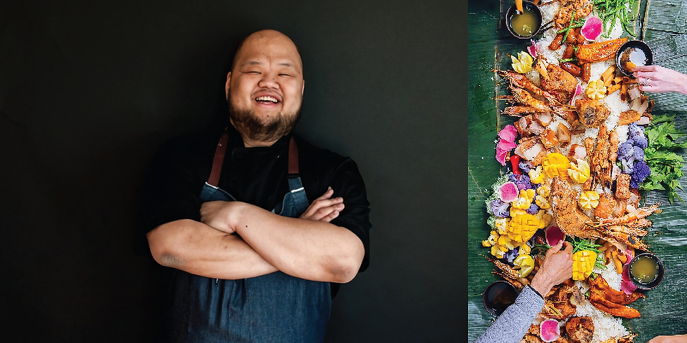 Kamayan Feast For A Cause with Chef Yia Vang