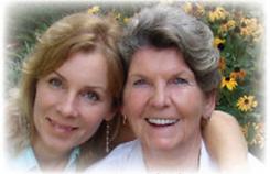 Suzanne and mom WISH Workbook