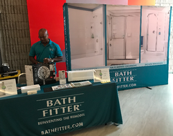 Bath Fitter at Good Living Show