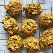 carrot turmeric cookies