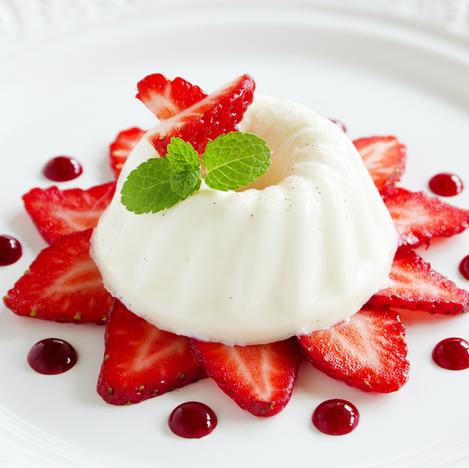 SG english style blancmange dessert reci
