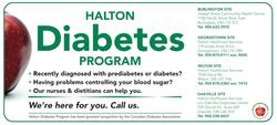 Halton Diabetes Advertisement