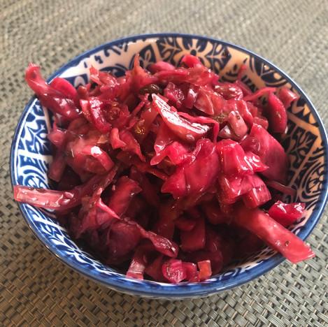 Cabbage Beets Sauerkraut