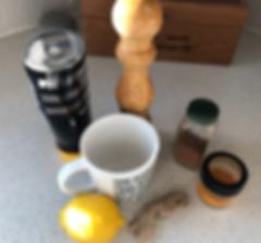 healthy detox morning tea