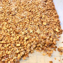 chunky easy granola