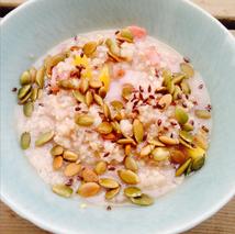 quinoa millet breakfast alternative kids